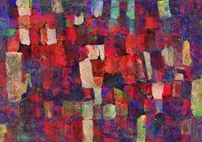 Abstract art painting stock illustration