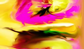 Abstract. Art. Painting. Graphic. Abstraction. Picture royalty free illustration