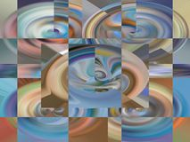 Abstract. Art. Painting. Graphic. Abstraction. Picture Royalty Free Stock Image