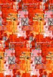 Abstract Art Painting Image-ontwerp royalty-vrije illustratie