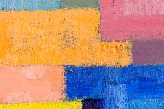 Abstract Art Painting. Abstract wallpaper, texture, background of an original oil painting on canvas with brush strokes Royalty Free Stock Photography
