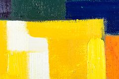 Abstract Art Painting Stock Images
