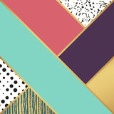 Abstract art pattern. illustration for fashion design. Cute shape background. Hand painted texture. Retro backdrop decoration. Decorative box. Brush postcard Royalty Free Stock Photography