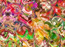 Abstract art Pattern Multicolored color Backgrounds. Abstract art Pattern Multicolored color Background Stock Photography