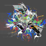 Abstract art picture Royalty Free Stock Images