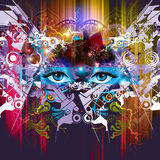 Abstract art picture Stock Photo