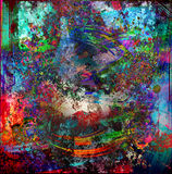 Abstract art picture Royalty Free Stock Photography