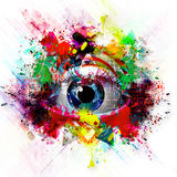 Abstract art picture Stock Photography