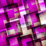 Abstract art  pink and blue geometric   textured background Royalty Free Stock Photography