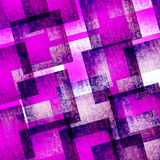 Abstract art  pink and blue geometric   textured background Royalty Free Stock Photos