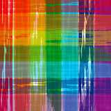 Abstract art rainbow curved lines colorful background Royalty Free Stock Photography