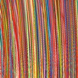 Abstract art rainbow stripes colorful background Stock Photo