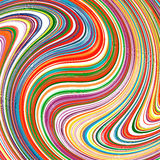 Abstract art rainbow stripes colorful background Royalty Free Stock Images