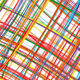 Abstract art rainbow stripes colorful background Royalty Free Stock Image