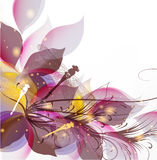 Abstract art vector colorful background Royalty Free Stock Images