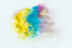 Abstract art watercolor splash watercolor drop Stock Photo