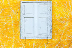 Abstract art yellow cement wall texture background Stock Image
