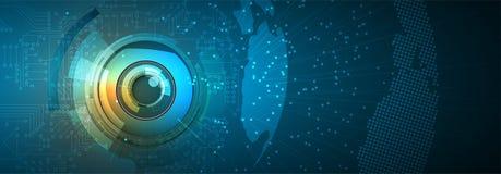Artificial intelligence. Technology web background. Virtual conc. Abstract Artificial intelligence. Technology web background. Virtual concept Stock Photos