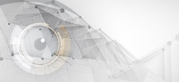 Artificial intelligence. Technology web background. Virtual conc. Abstract Artificial intelligence. Technology web background. Virtual concept Royalty Free Stock Image