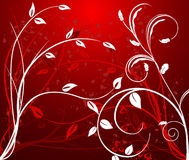 Abstract  artistic  background. Vector floral illustration Royalty Free Stock Photos