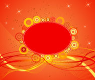 Abstract  artistic  background. Vector illustration Royalty Free Stock Images