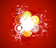 Abstract  artistic  background. Vector illustration Royalty Free Stock Photography