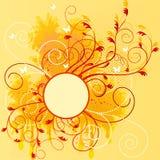 Abstract artistic background. Vector illustration stock illustration