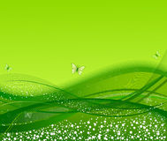 Abstract artistic background. Abstract artistic floral green background royalty free illustration