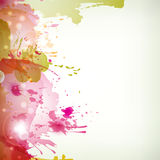 Abstract artistic Background with blots Royalty Free Stock Image