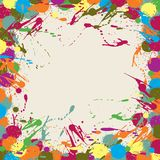 Abstract artistic Background blots. Vector Royalty Free Stock Photo