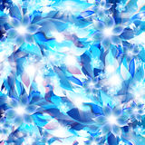 Abstract artistic Background with blue floral element. Vector illustrator of Abstract artistic Background with blue floral element Royalty Free Stock Image