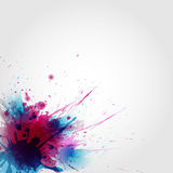 Abstract artistic Background of colors stain formed Stock Images