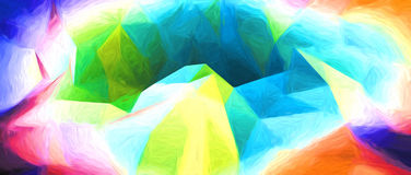 Abstract artistic background. 3d render with paint effect Royalty Free Stock Photography