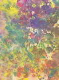 Splattered art background Stock Photos