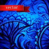 Abstract artistic background. Vector art in Stock Photo