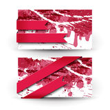 Abstract artistic Banners Royalty Free Stock Photos