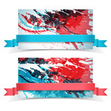 Abstract artistic Banners Stock Photos