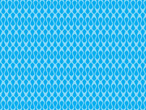 Abstract artistic blue seamless pattern Stock Images