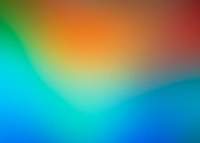Abstract artistic blurred background of lighting sun and sea colors.  royalty free illustration