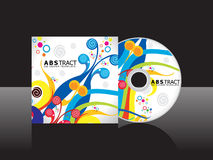 Abstract artistic cd cover template Royalty Free Stock Photography