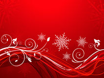 Abstract artistic christmas background. Vector illustration Stock Image