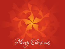 Abstract artistic christmas background Stock Image