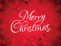 Abstract artistic chrtistmas text background Stock Image