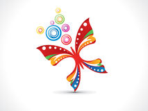 Abstract artistic colorful butterfly. Vector illustration Vector Illustration
