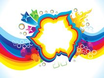 Abstract artistic colorful explode. Vector illustration Royalty Free Illustration
