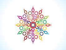 Abstract artistic colorful floral. Vector illustration vector illustration