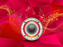 Abstract artistic colorful music background. Vector illustration Royalty Free Stock Photography
