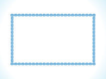 Abstract artistic creative border. Vector illustration royalty free illustration