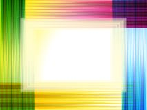Abstract artistic creative colorful background. Vector illustration Stock Images