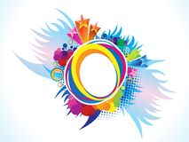 Abstract artistic creative colorful explode. Vector illustration Vector Illustration